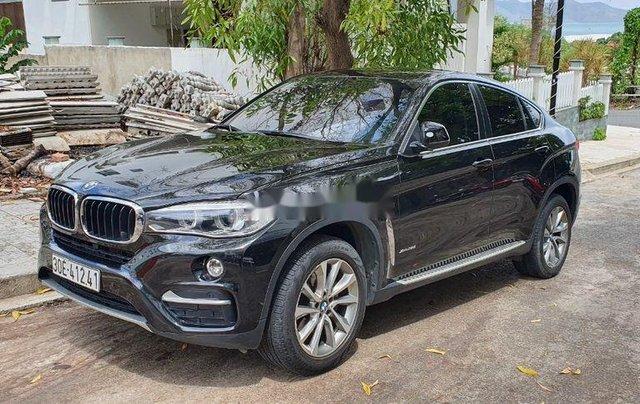 Cần bán BMW X6 năm sản xuất 2017, màu đen, nhập khẩu còn mới0