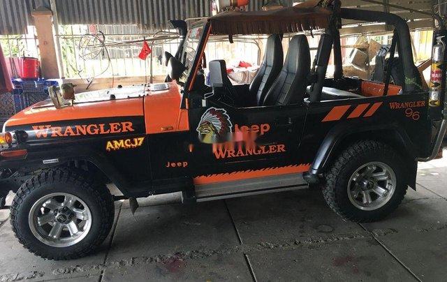 Cần bán lại xe Jeep Wrangler đời 1996, hai màu, nhập khẩu nguyên chiếc chính chủ, 310tr1