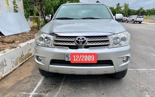 Bán Toyota Fortuner sản xuất năm 2009, màu bạc 5
