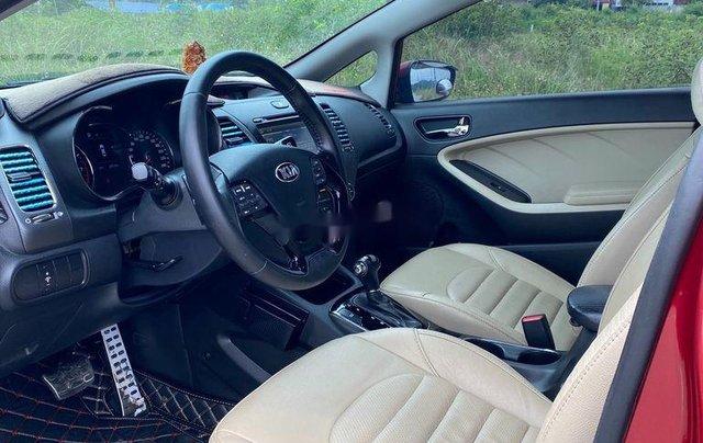 Cần bán lại xe Kia Cerato năm 2018, màu đỏ, 550 triệu9