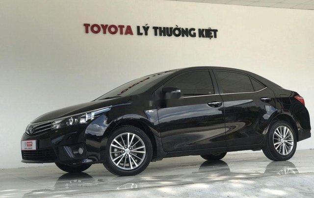 Cần bán Toyota Corolla Altis sản xuất năm 2017, màu đen, giá chỉ 650 triệu2