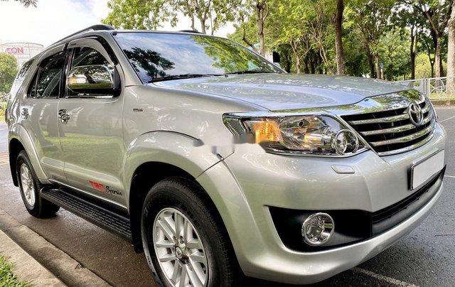 Bán Toyota Fortuner đời 2013, màu bạc, nhập khẩu2