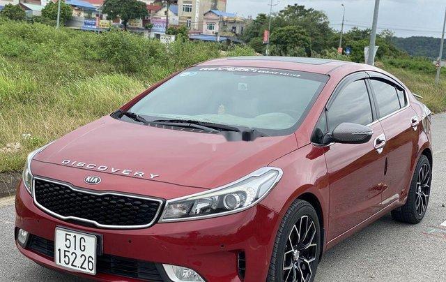 Cần bán lại xe Kia Cerato năm 2018, màu đỏ, 550 triệu2
