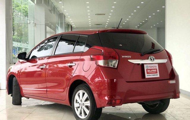 Bán Toyota Yaris đời 2016, màu đỏ7
