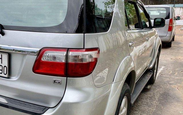 Bán Toyota Fortuner sản xuất năm 2009, màu bạc 4