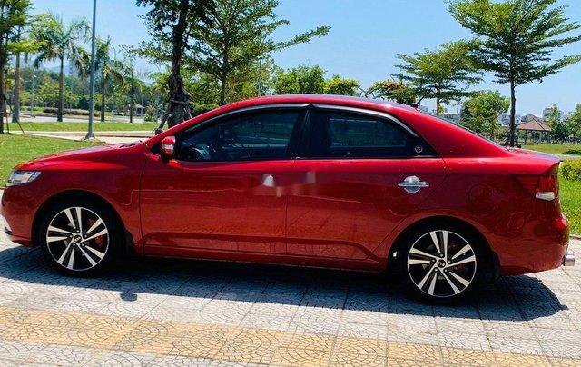 Cần bán xe Kia Cerato năm sản xuất 2010, màu đỏ, nhập khẩu nguyên chiếc 4