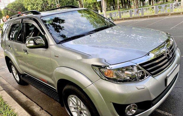 Bán Toyota Fortuner đời 2013, màu bạc, nhập khẩu10
