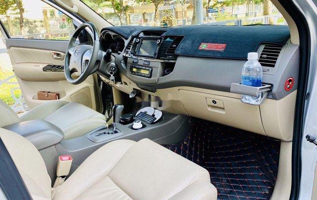 Bán Toyota Fortuner đời 2013, màu bạc, nhập khẩu6