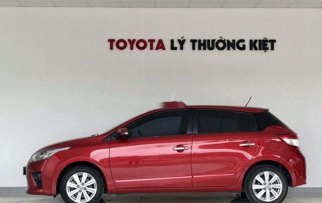 Bán Toyota Yaris đời 2016, màu đỏ2