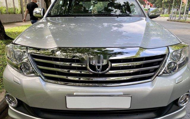 Bán Toyota Fortuner đời 2013, màu bạc, nhập khẩu0