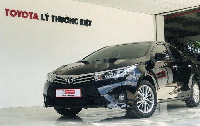 Cần bán Toyota Corolla Altis sản xuất năm 2017, màu đen, giá chỉ 650 triệu1