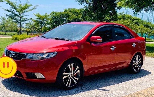 Cần bán xe Kia Cerato năm sản xuất 2010, màu đỏ, nhập khẩu nguyên chiếc 1