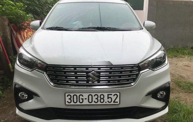 Cần bán lại xe Suzuki Ertiga đời 2019, màu trắng, nhập khẩu nguyên chiếc xe gia đình, giá 590tr0