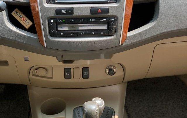 Bán ô tô Toyota Fortuner đời 2010, màu bạc 10