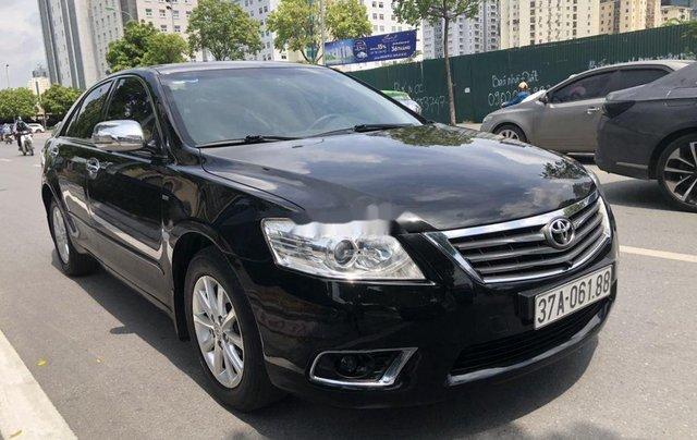 Bán Toyota Camry 2012, màu đen, giá 595tr0