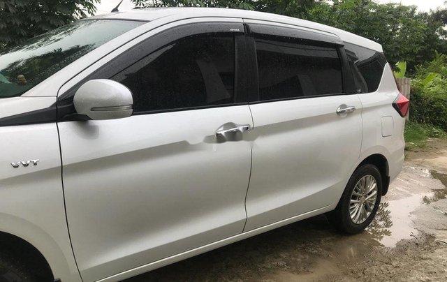 Cần bán lại xe Suzuki Ertiga đời 2019, màu trắng, nhập khẩu nguyên chiếc xe gia đình, giá 590tr3
