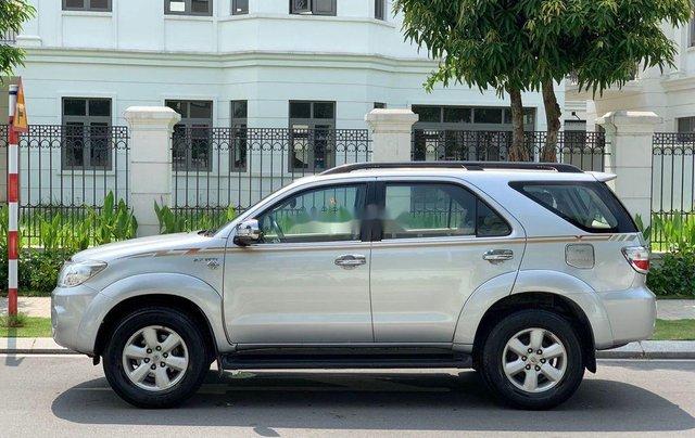 Bán ô tô Toyota Fortuner đời 2010, màu bạc 2