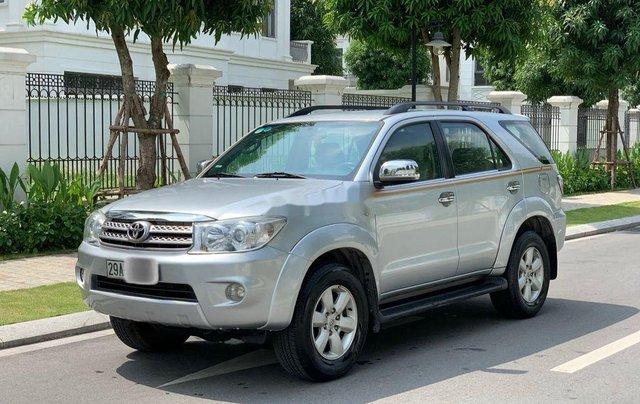 Bán ô tô Toyota Fortuner đời 2010, màu bạc 1