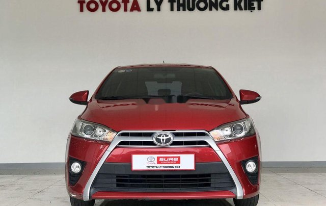 Cần bán xe Toyota Yaris G 2016, màu đỏ, nhập khẩu nguyên chiếc  0