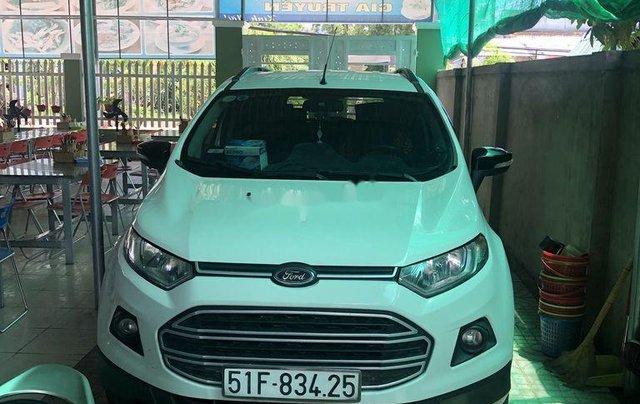 Cần bán lại xe Ford EcoSport sản xuất năm 2016, màu trắng, 375tr2