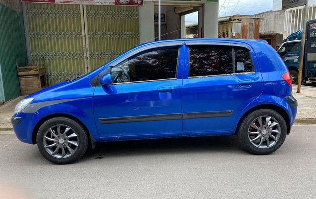 Bán ô tô Hyundai Getz 2009, màu xanh lam, xe nhập 1