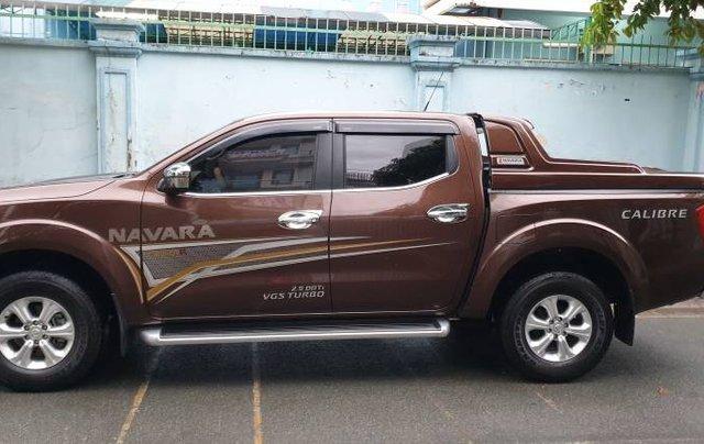 Chính chủ cần bán Nissan Navara Premium EL đời 2019, màu nâu0