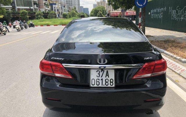 Bán Toyota Camry 2012, màu đen, giá 595tr4