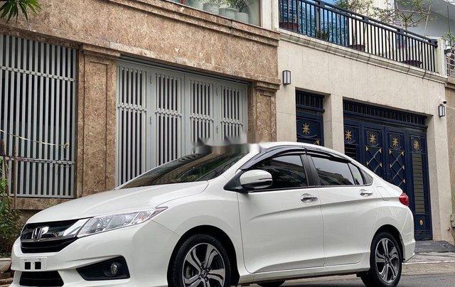 Cần bán lại xe Honda City 1.5 CVT đời 2016, màu trắng, giá tốt2