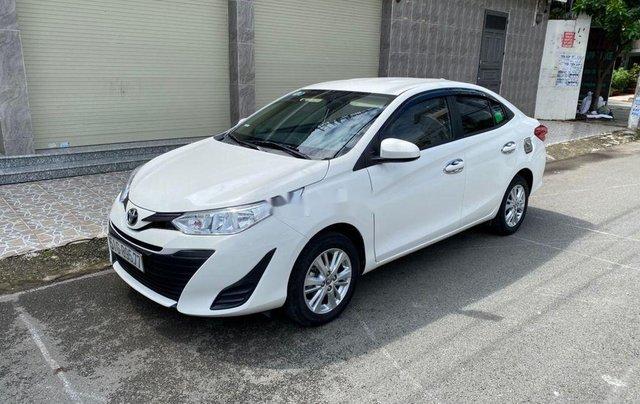 Bán Toyota Vios E sản xuất năm 2019, màu trắng  1