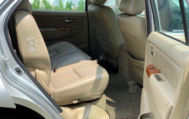 Bán ô tô Toyota Fortuner đời 2010, màu bạc 9