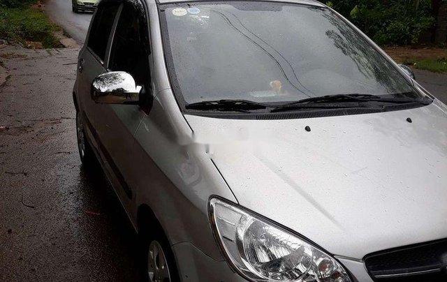 Cần bán gấp Hyundai Getz đời 2009, màu bạc, nhập khẩu nguyên chiếc0