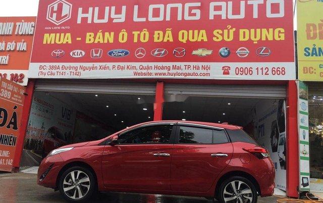 Bán xe Toyota Yaris đời 2019, màu đỏ, nhập khẩu Thái Lan2