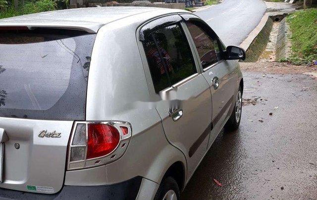 Cần bán gấp Hyundai Getz đời 2009, màu bạc, nhập khẩu nguyên chiếc6