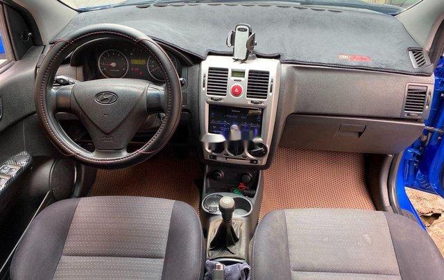 Bán ô tô Hyundai Getz 2009, màu xanh lam, xe nhập 6