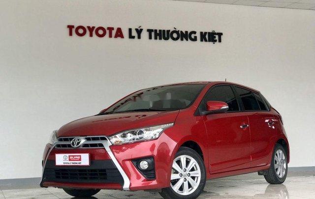 Cần bán xe Toyota Yaris G 2016, màu đỏ, nhập khẩu nguyên chiếc  2