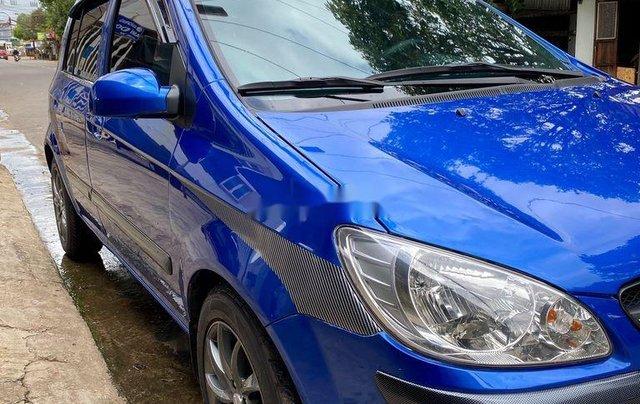 Bán ô tô Hyundai Getz 2009, màu xanh lam, xe nhập 3