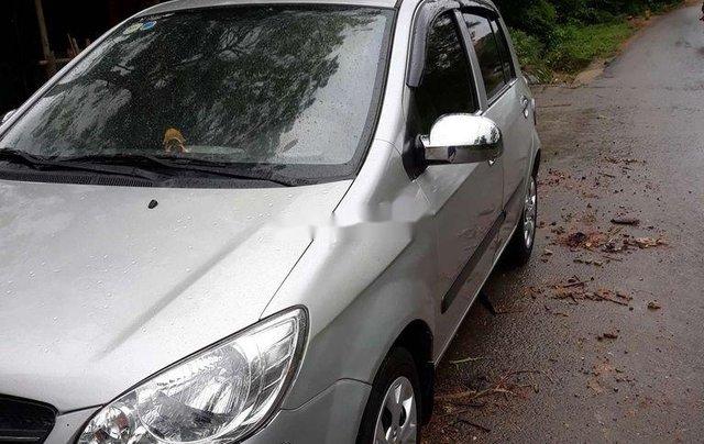 Cần bán gấp Hyundai Getz đời 2009, màu bạc, nhập khẩu nguyên chiếc1