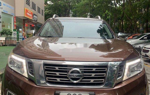 Bán Nissan Navara đời 2016, màu nâu, nhập khẩu chính chủ, 525 triệu4