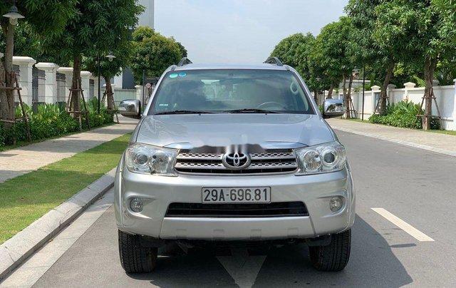 Bán ô tô Toyota Fortuner đời 2010, màu bạc 0