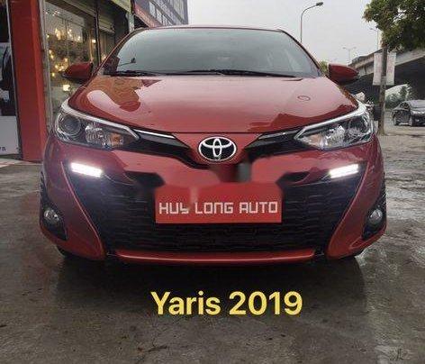 Bán xe Toyota Yaris đời 2019, màu đỏ, nhập khẩu Thái Lan0