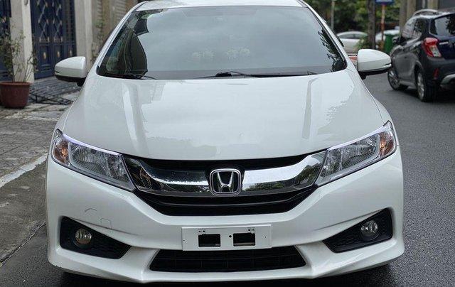 Cần bán lại xe Honda City 1.5 CVT đời 2016, màu trắng, giá tốt0