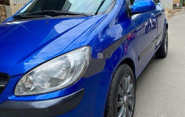 Bán ô tô Hyundai Getz 2009, màu xanh lam, xe nhập 2