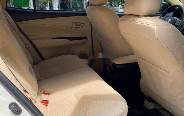 Bán Toyota Vios E sản xuất năm 2019, màu trắng  9