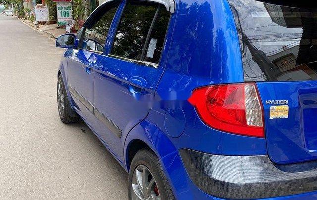 Bán ô tô Hyundai Getz 2009, màu xanh lam, xe nhập 4