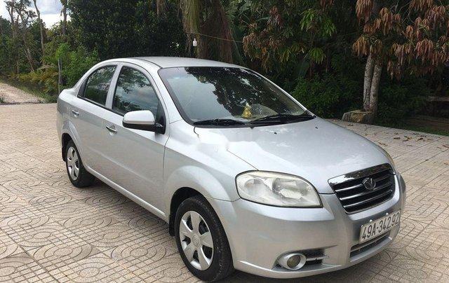 Cần bán xe Daewoo Gentra đời 2011, màu bạc, nhập khẩu 2