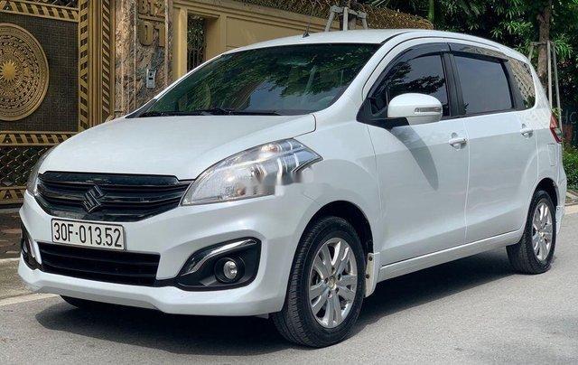 Cần bán gấp Suzuki Ertiga đời 2017, màu trắng, nhập khẩu nguyên chiếc  2