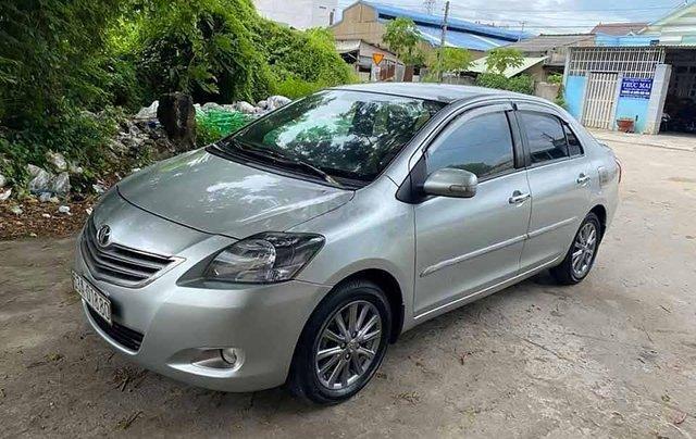 Bán Toyota Vios 1.5E đời 2013, màu bạc còn mới, giá tốt0