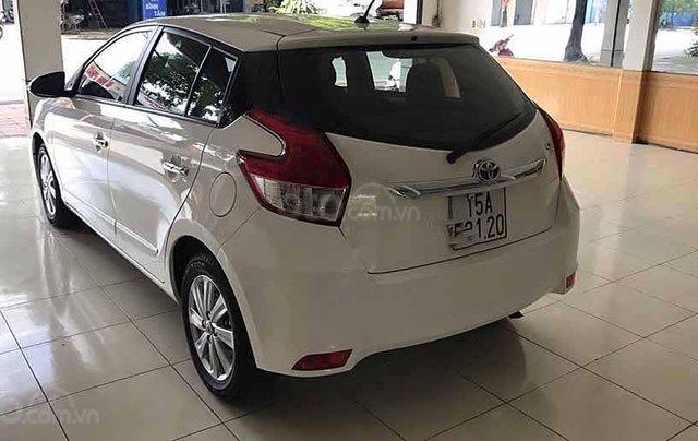 Xe Toyota Yaris G đời 2016, màu trắng, nhập khẩu nguyên chiếc 4