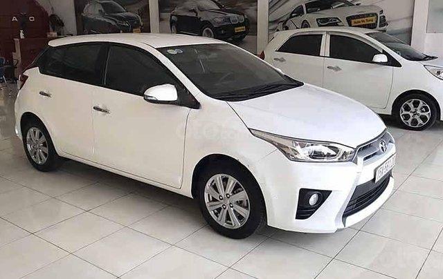 Xe Toyota Yaris G đời 2016, màu trắng, nhập khẩu nguyên chiếc 1