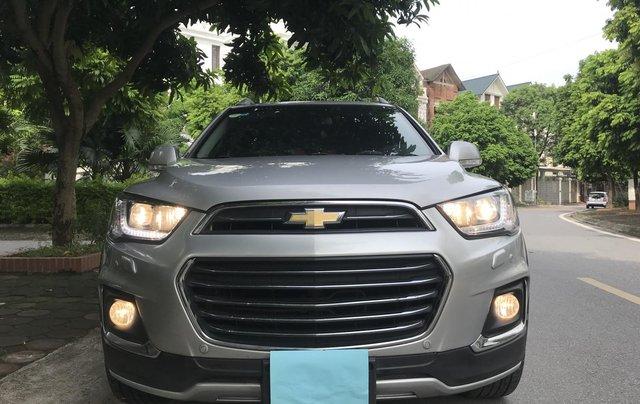 Bán Chevrolet Captiva Revv 2016, màu bạc0